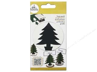 EK Success paper dimensions: EK Paper Shapers Punch Large Fir Tree