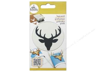 EK Success: EK Paper Shapers Punch Large Deer Head