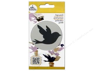 EK Success paper dimensions: EK Paper Shapers Punch Large Bird
