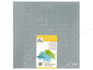 EK Success Dimensions: EK Cutting Mat 13 x 13 in. Self Healing Grey