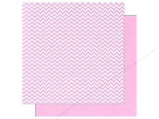 We R Memory Paper 12x12 Pink Chevron (12 piece)