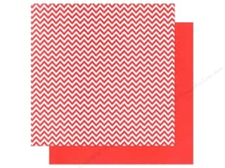 We R Memory Paper 12x12 Red Chevron (12 piece)