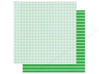 We R Memory Paper 12x12 Green Dot (12 piece)