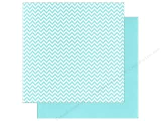 We R Memory Paper 12x12 Blue Chevron (12 piece)