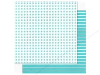 We R Memory Paper 12x12 Blue Dot (12 piece)