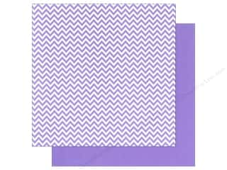 We R Memory Paper 12x12 Purple Chevron (12 piece)