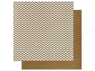We R Memory Paper 12x12 Brown Chevron (12 piece)