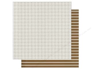 We R Memory Paper 12x12 Brown Dot (12 piece)