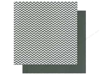 We R Memory Paper 12x12 Black Chevron (12 piece)