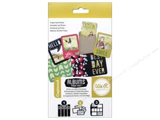 Cards Burgundy: We R Memory Cards Albums Made Easy Die Cut Captured