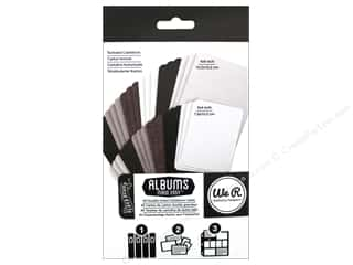 Page Protectors Stock Up Sale: We R Memory Cards Albums Made Easy Cardstock Blackboard