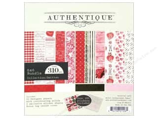 Authentique 6 x 6 in. Paper Bundle Smitten 310 pc.
