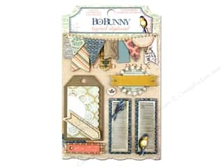Bo Bunny Sticker The Avenues Chipboard Layered