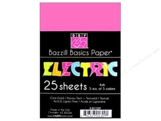 Bazzill Multi Pack Cdstk 4x6 Electric 25pc