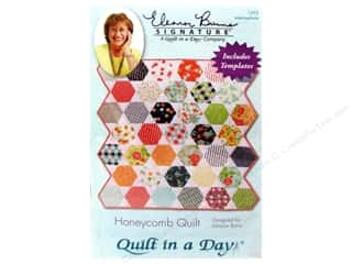 Patterns Quilting Patterns: Quilt In A Day Honeycomb Quilt Pattern