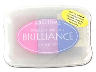 Stamping Ink Pads $3 - $5: Tsukineko Brilliance Large Stamp Pad Twilight 3 Color