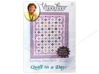 Quilt in a Day Quilting: Quilt In A Day Swirling Stars Quilt Pattern