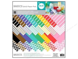 We R Memory Paper 12x12 Pad Basics