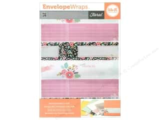 theme stickers  floral: We R Memory Sticker Envelope Wrap Floral