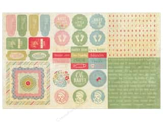 Authentique Stickers 12 x 8 in. Precious Elements (18 set)