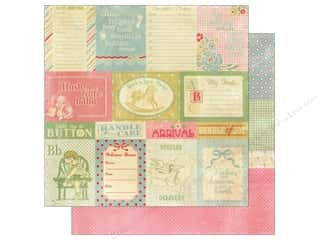 Authentique 12 x 12 in. Paper Precious Enhancements (25 piece)