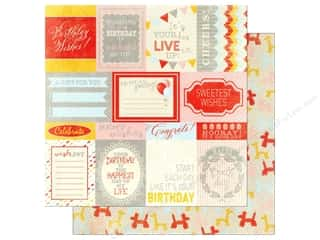 Authentique 12 x 12 in. Paper Wishes Enhancements (25 piece)