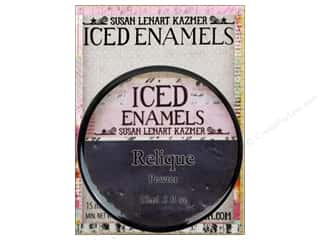 Embossing Aids Black: Ice Resin Iced Enamels Relique Pewter