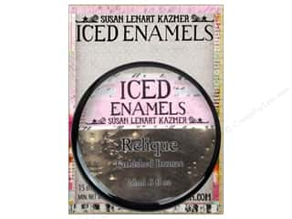 ICE Resin Embossing Powder: Ice Resin Iced Enamels Relique Tarnished Bronze