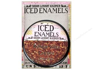 ICE Resin Embossing Powder: Ice Resin Iced Enamels Relique Glitz Copper