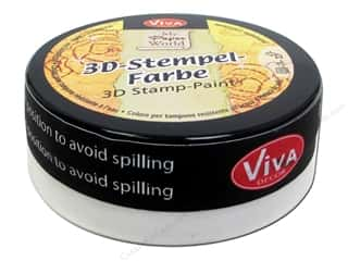 Viva Decor 3D Stamp Paint 1.7 fl oz White