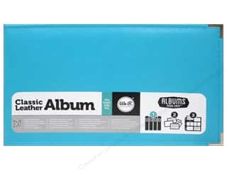 We R Memory Album 12x8 AME Leather Ring Aqua