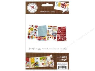 Simple Stories SN@P! Stickers Family
