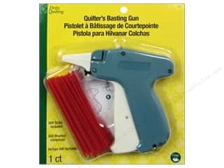 Tack Cloth: Dritz Quilting Basting Gun with 500 Tacks