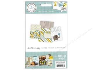 Page Protectors Brown: Simple Stories SN@P! Pockets Baby Boy