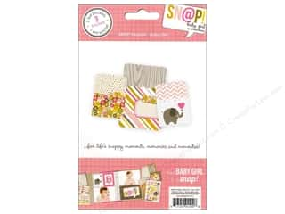 Page Protectors Brown: Simple Stories SN@P! Pockets Baby Girl