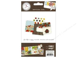 Paper Accents Burgundy: Simple Stories SN@P! Pockets Family