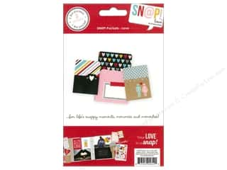 Page Protectors Black: Simple Stories SN@P! Pockets Love