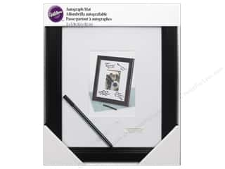 "Wedding & Bridal $5 - $10: Wilton Accessories Autograph Mat Framed 12""x 15"""
