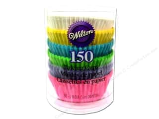 Baking Supplies New: Wilton Baking Cup Standard Pastel Rainbow 150pc