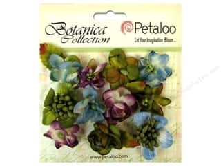 Petaloo Botanica Minis Grey Blue/Purple/Green