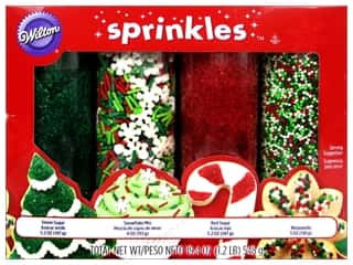 Wilton Edible Decorations Sprinkles Set Holiday