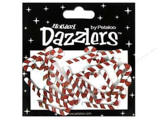 Petaloo Dazzlers Candy Canes 20pc