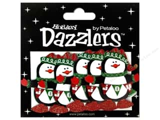 Petaloo Dazzlers Standing Penguins 5pc