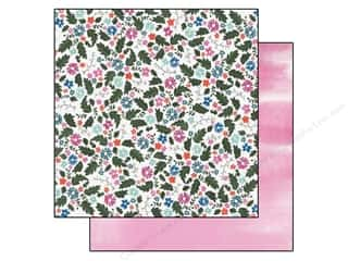 Carta Bella 12 x 12 in. Paper Field Of Flowers (25 piece)