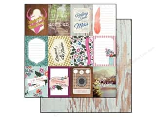 Carta Bella 12 x 12: Carta Bella 12 x 12 in. Paper Wild Flower 3 x 4 in. Journaling Cards (25 sheets)