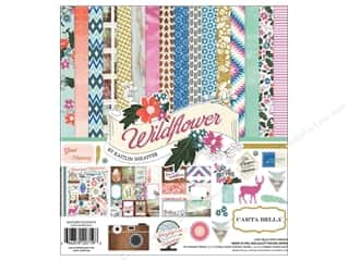 Carta Bella Carta Bella Collection Kit: Carta Bella Collection Kit 12 x 12 in. Wild Flower