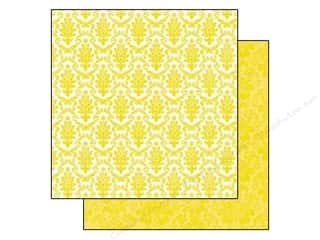 Echo Park Paper Company: Echo Park 12 x 12 in. Paper Style Essentials 5th Avenue Sequin Damask (25 sheets)