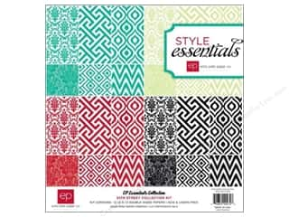 Clearance Echo Park Collection Kit: Echo Park 12 x 12 in. Style Essentials 34th Street Collection Kit