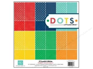 Echo Park Paper Company Echo Park Collection Kit: Echo Park 12 x 12 in. Essentials Dots Primary Collection Kit