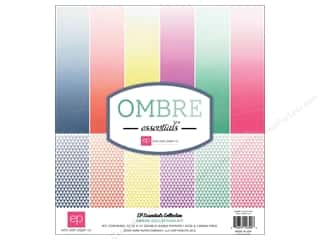 Echo Park Paper Company: Echo Park 12 x 12 in. Ombre Essentials Collection Kit